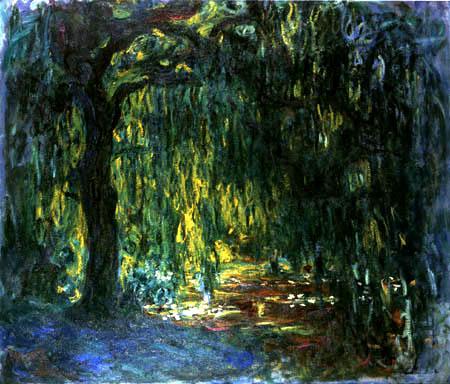Claude Monet saule pleureur
